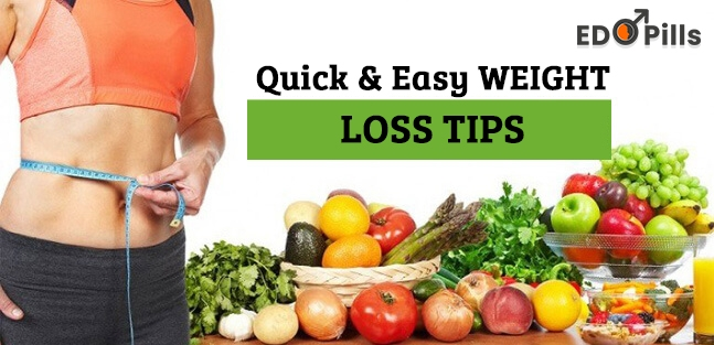 Quick & Easy Weight Loss Tips