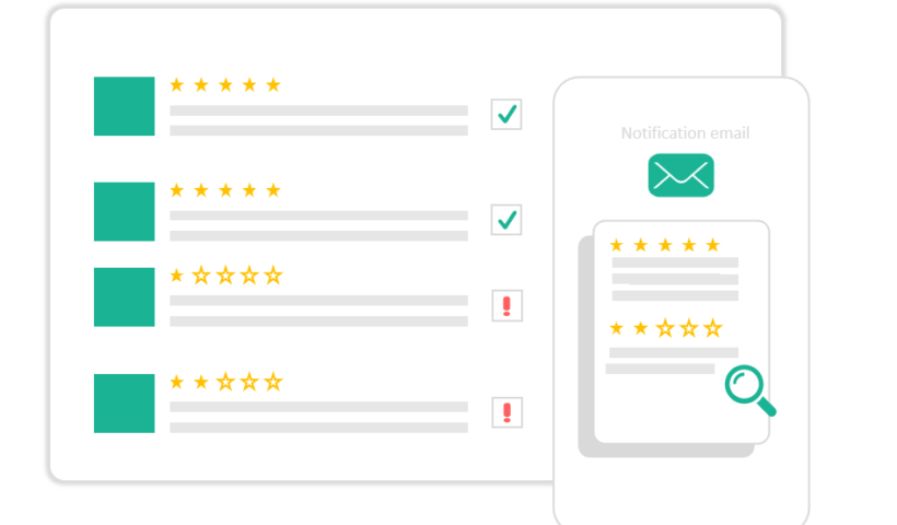 Amazon review management tool