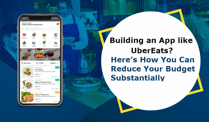 Building an App like ubereats