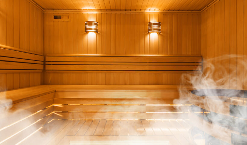 London steam rooms and saunas