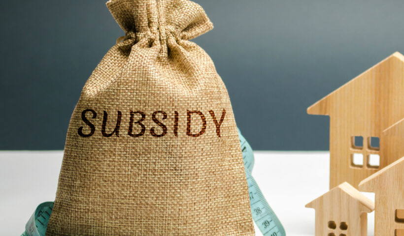 subsidies for institutions