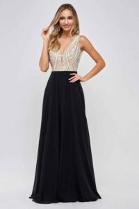 Hollywood Glam with prom dresses