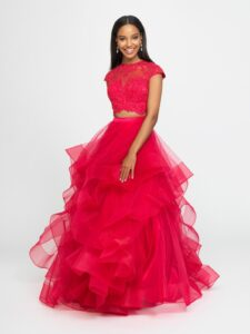 Tulle dress for a cool look