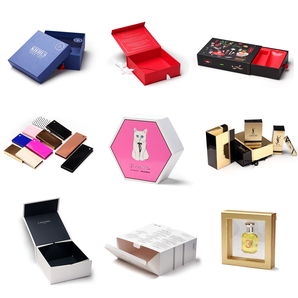 The cosmetic boxes