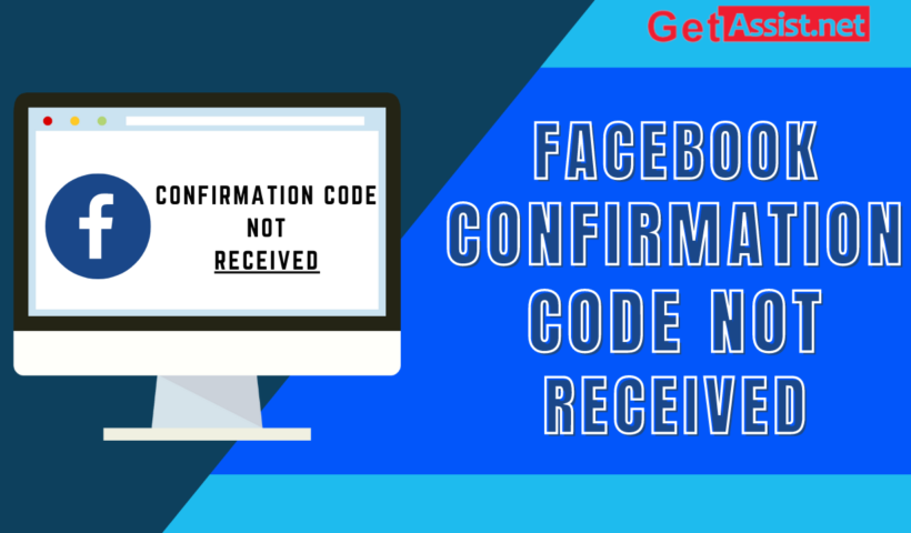 Facebook confirmation code not received