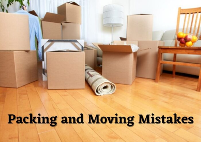 Some Packing and Moving Mistakes while Shifting
